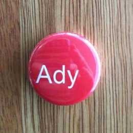 Ady Badge wood